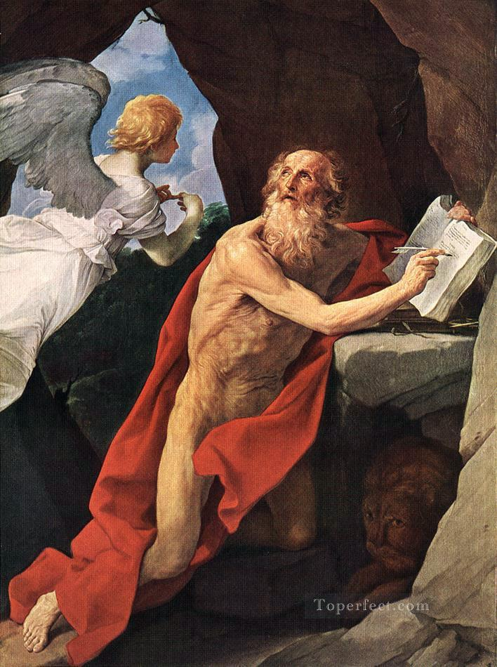 St Jerome Baroque Guido Reni Oil Paintings