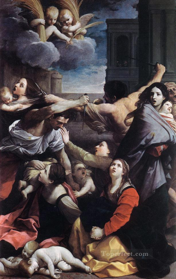 Massacre of the Innocents Baroque Guido Reni Oil Paintings