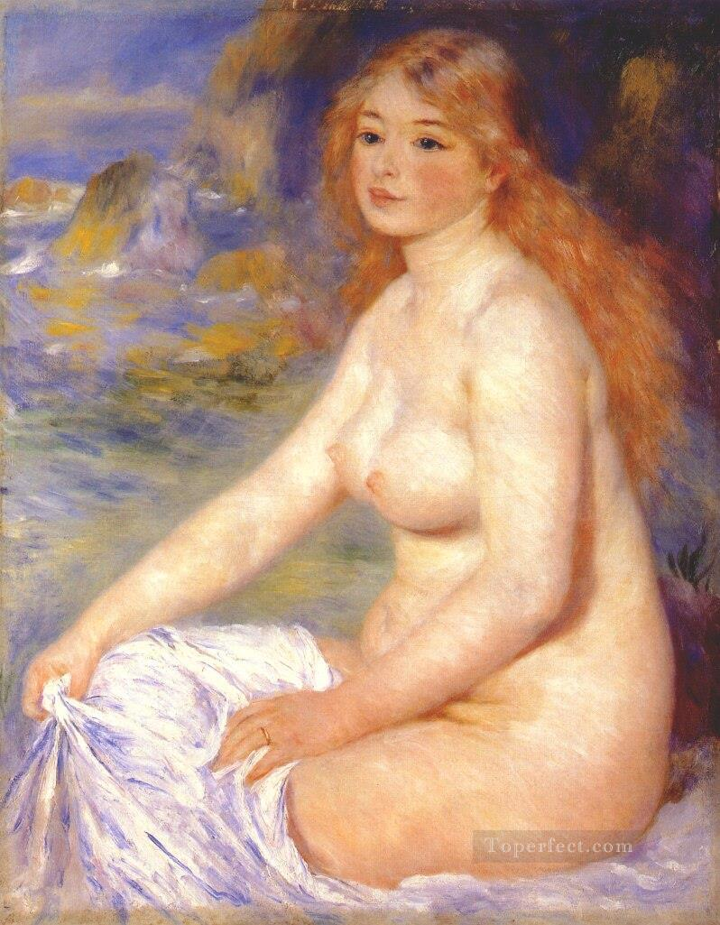blond bather Pierre Auguste Renoir Oil Paintings