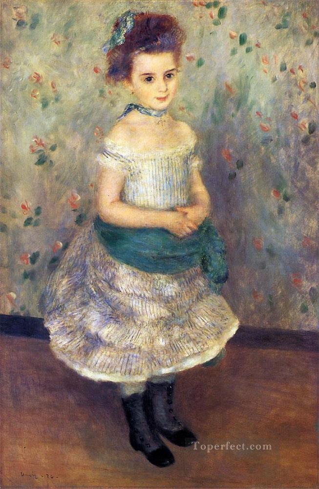 jeanne durand ruel Pierre Auguste Renoir Oil Paintings