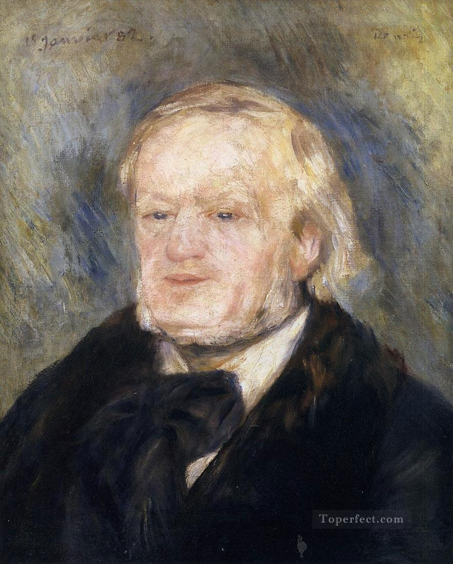 portrait of richard wagner Pierre Auguste Renoir Oil Paintings