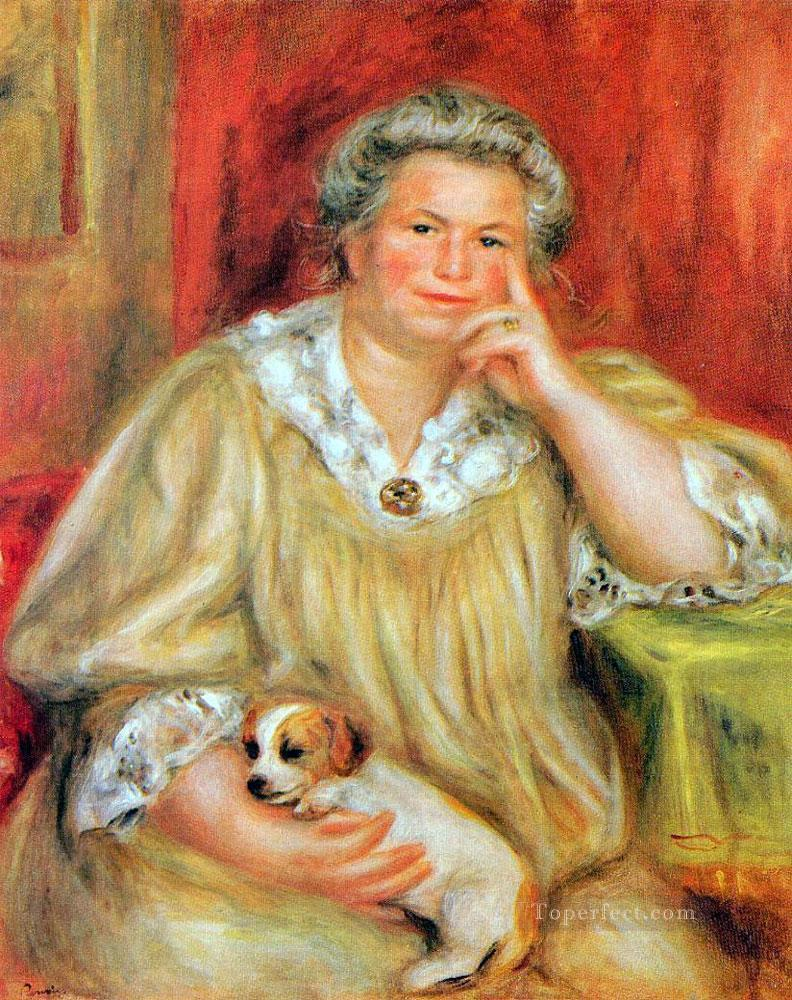 madame and bob Pierre Auguste Renoir Oil Paintings