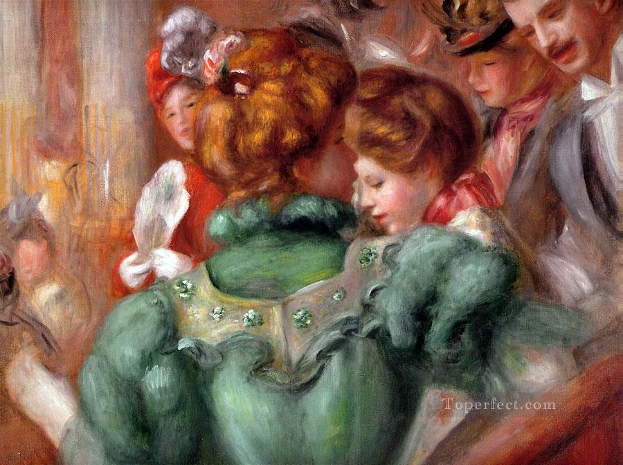 a box in the theater des varietes Pierre Auguste Renoir Oil Paintings