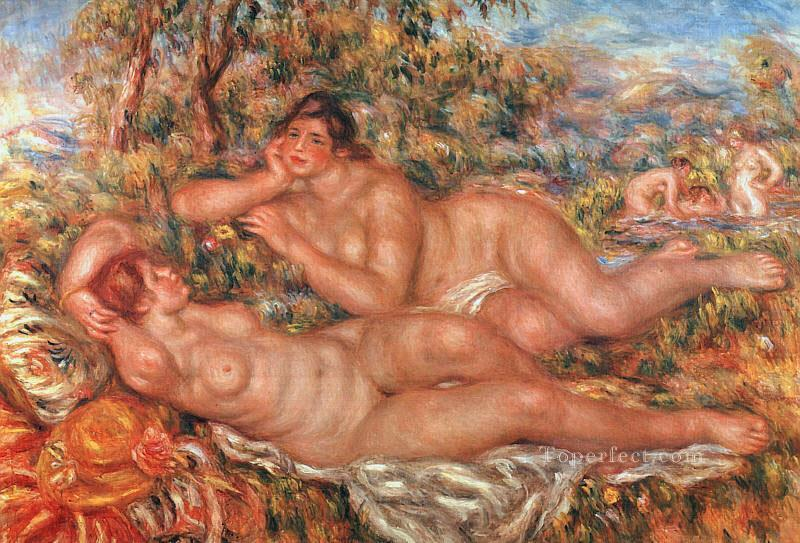 the great bathers Pierre Auguste Renoir Oil Paintings