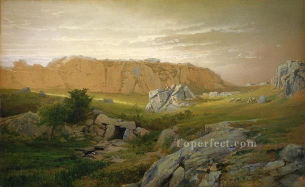 Paradise Newport scenery William Trost Richards Oil Paintings