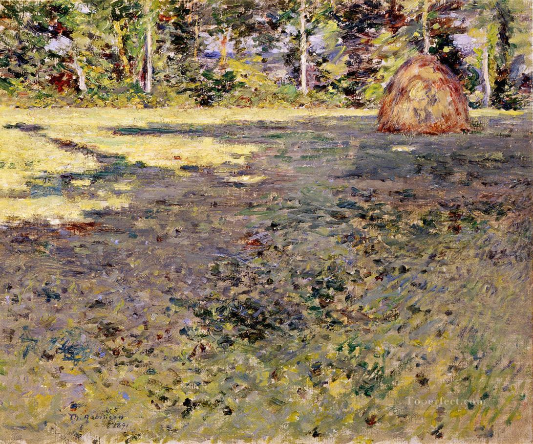 Afternoon Shadows Theodore Robinson Oil Paintings