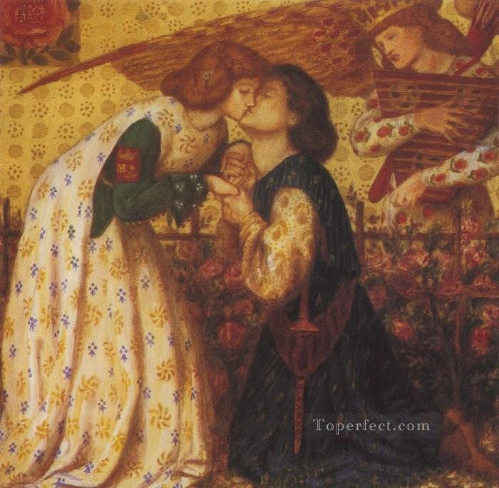 Roman de la Rose Pre Raphaelite Brotherhood Dante Gabriel Rossetti Oil Paintings