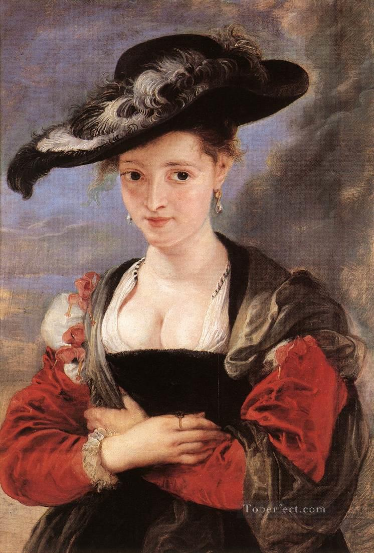 The Straw Hat Baroque Peter Paul Rubens Oil Paintings