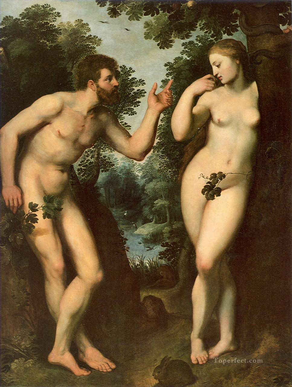 Adam and Eve Peter Paul Rubens Oil Paintings
