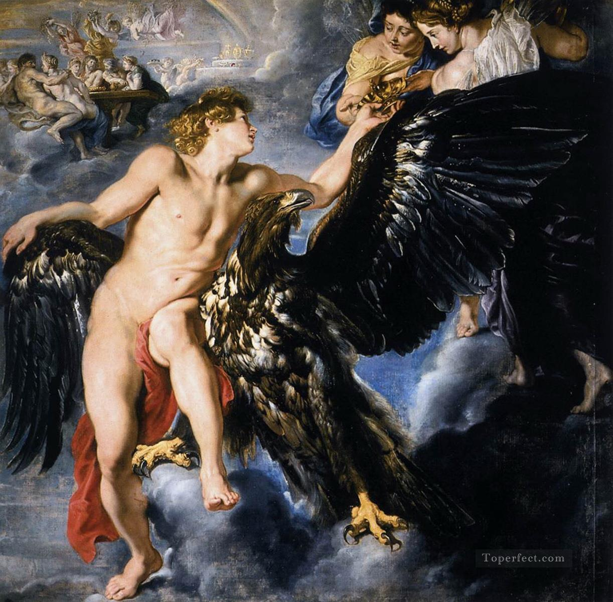 The Abduction of Ganymede Peter Paul Rubens Oil Paintings