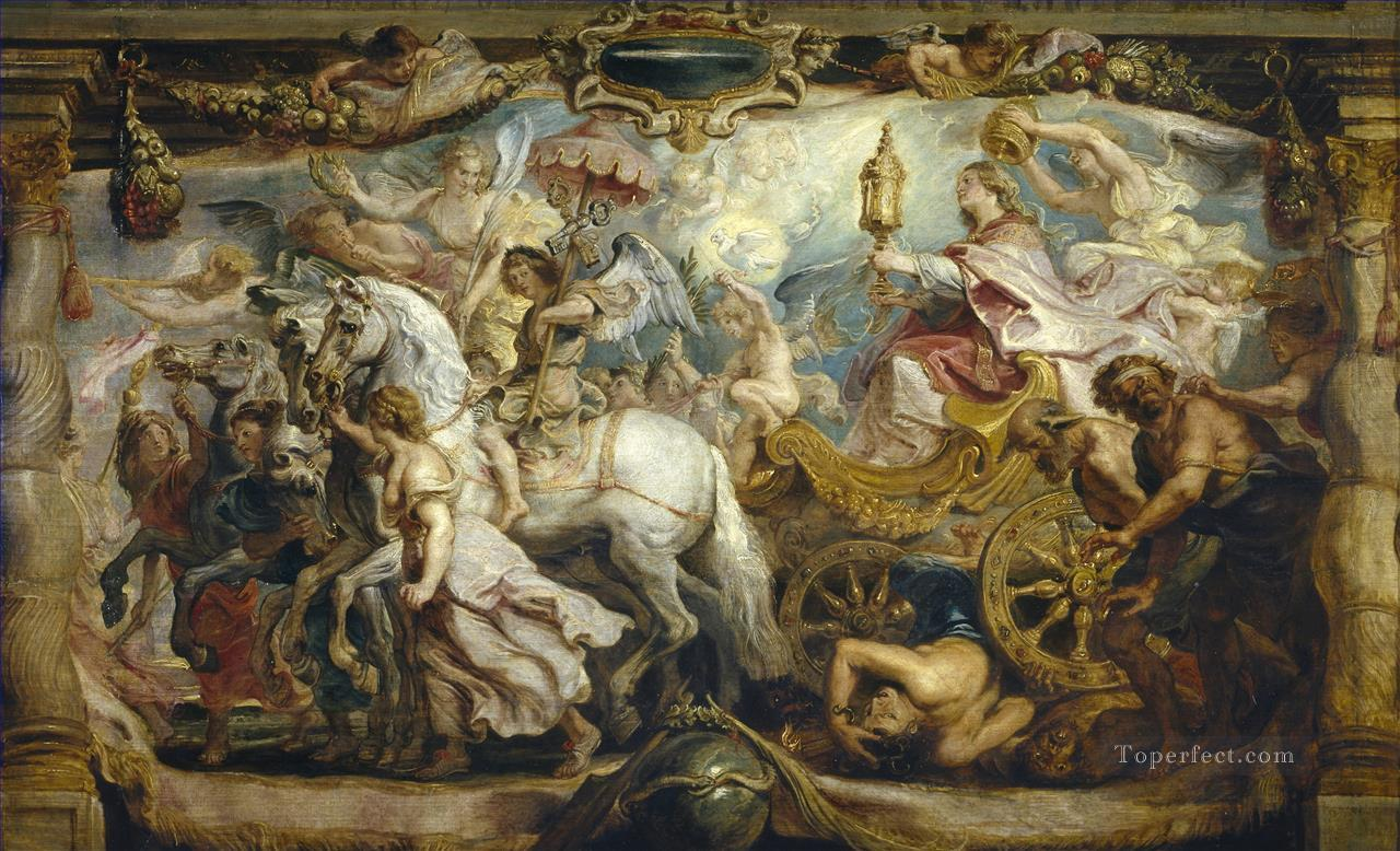 The Triumph of the Church Peter Paul Rubens Oil Paintings