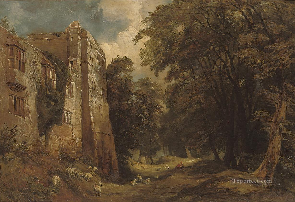 Helmsley Castle in North Yorkshire Samuel Bough landscape Oil Paintings