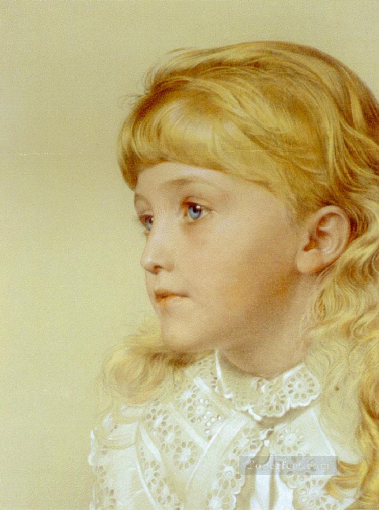 Augustus Frederick Portrait Of May Gillilan Victorian painter Anthony Frederick Augustus Sandys Oil Paintings