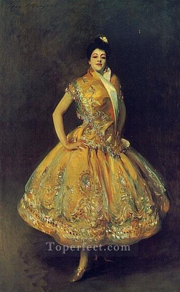 La Carmencita portrait John Singer Sargent Oil Paintings