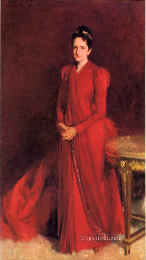 Portrait of Mrs Elliott Fitch Shepard aka Margaret Louisa Vanderbilt John Singer Sargent Oil Paintings
