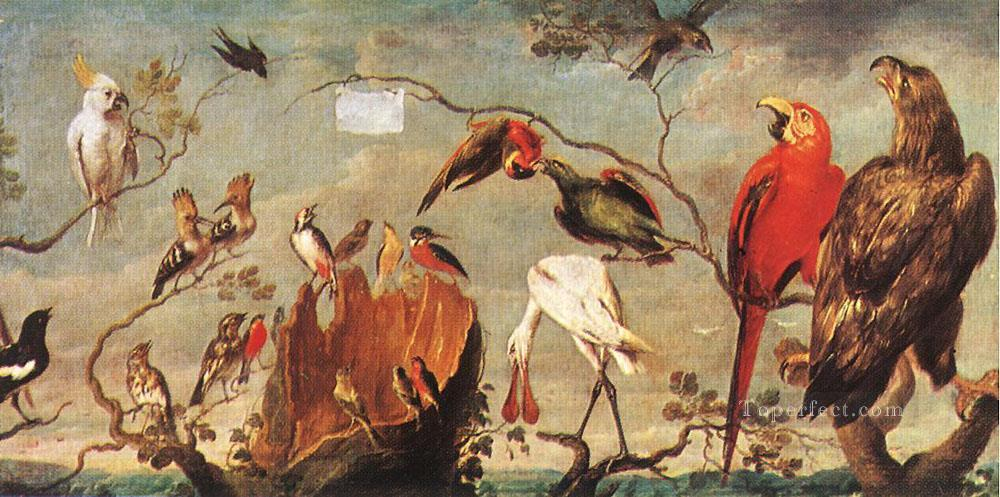 Concert Of Birds Frans Snyders bird Oil Paintings