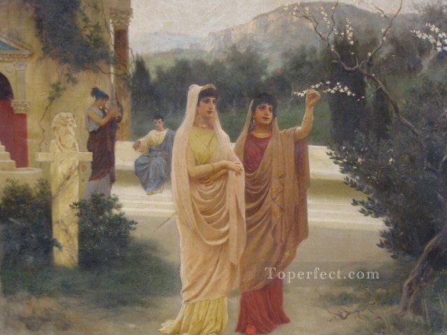blossom Stephan Bakalowicz Ancient Rome Oil Paintings