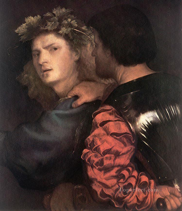 The Bravo Tiziano Titian Oil Paintings