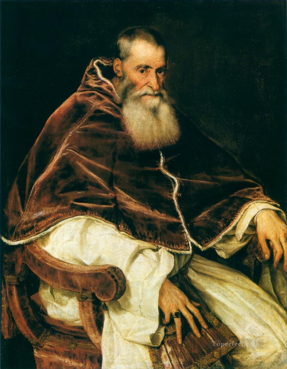 Tiziano Titian 3 Oil Paintings