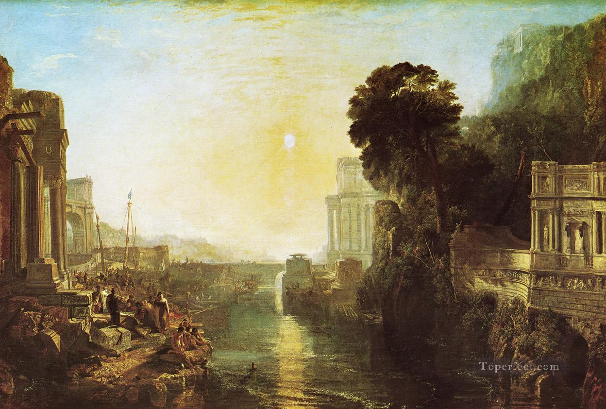 Dido Building Carthage The Rise of the Carthaginian Empire landscape Turner Oil Paintings