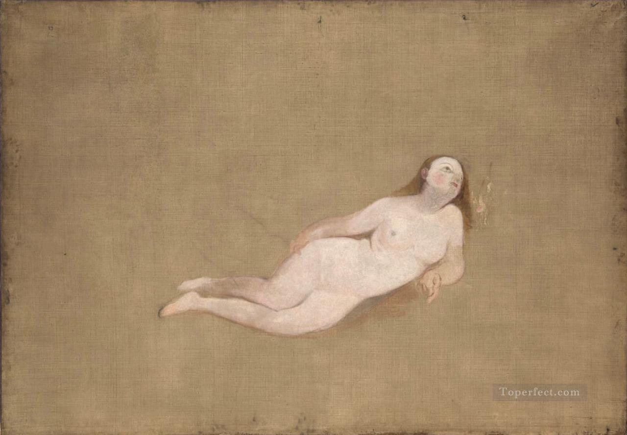 Two Recumbent Nude Turner Oil Paintings