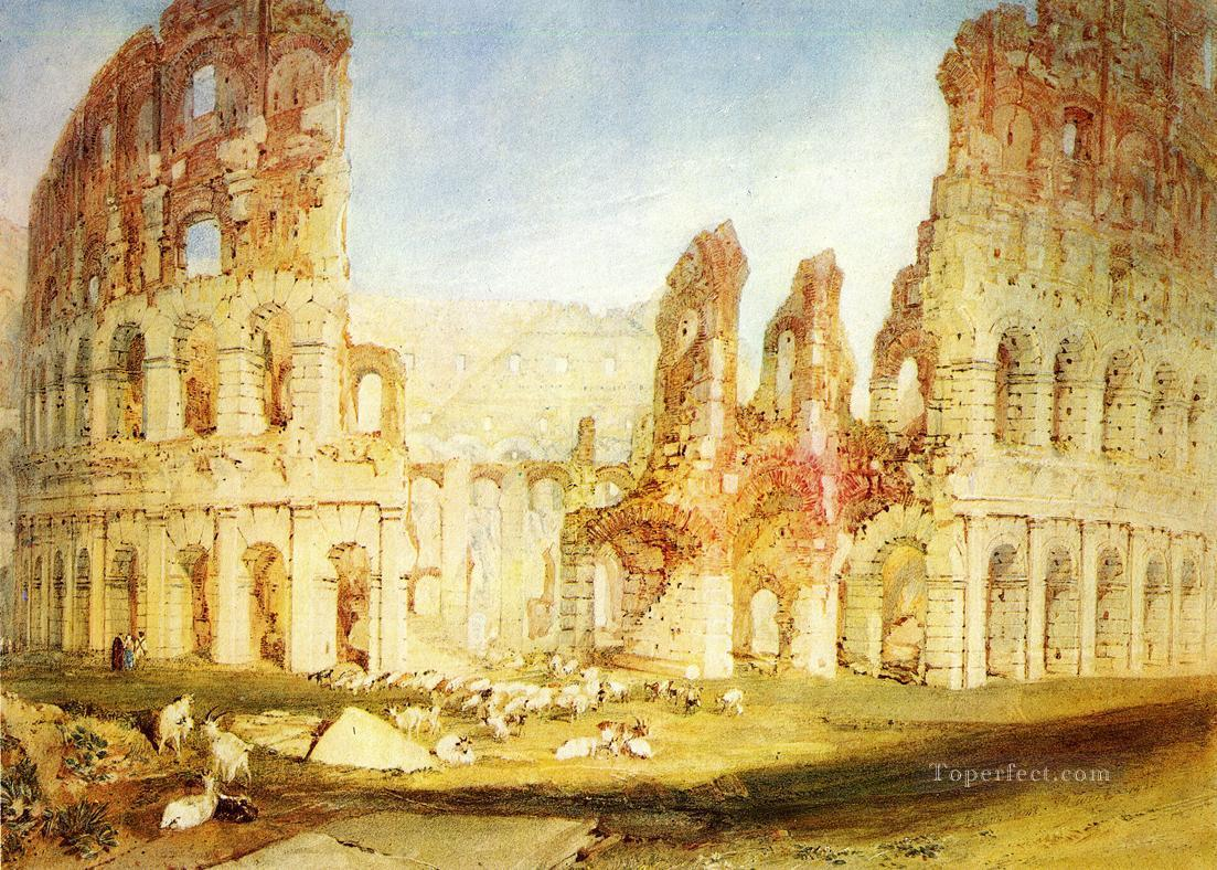 Rome The Colosseum Romantic Turner Oil Paintings