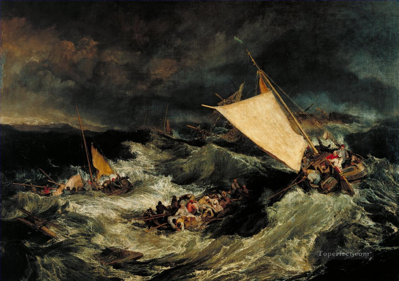 The Shipwreck Turner Oil Paintings