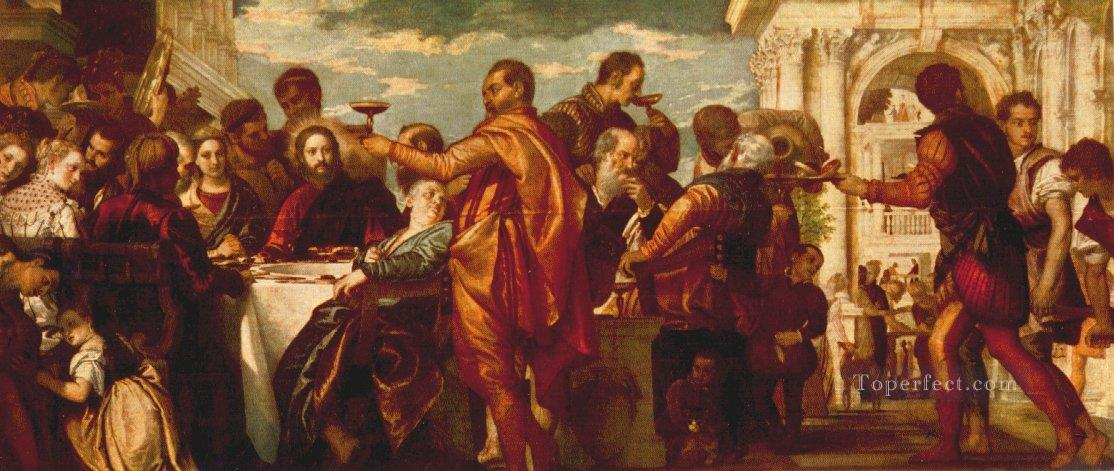 The Marriage at Cana 1560 Renaissance Paolo Veronese Oil Paintings