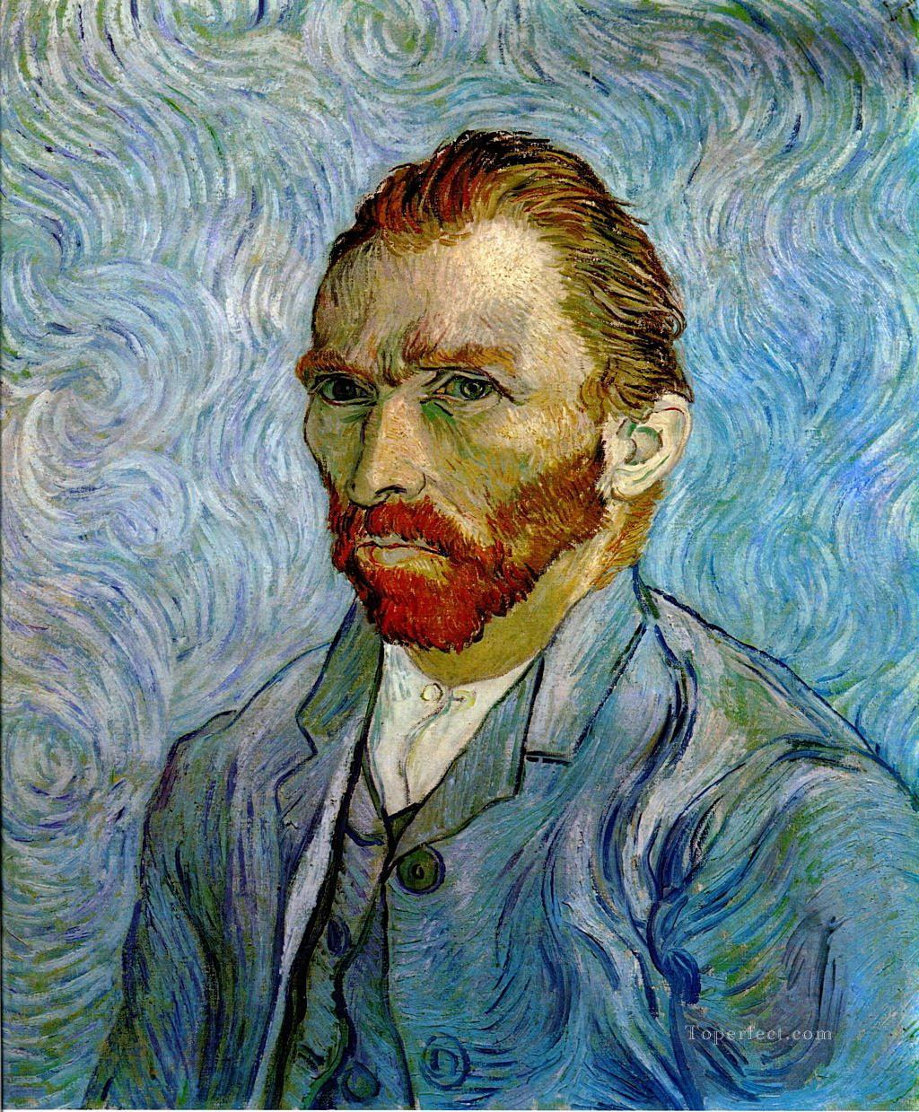 Selfportrait 1889 3 Vincent van Gogh Oil Paintings