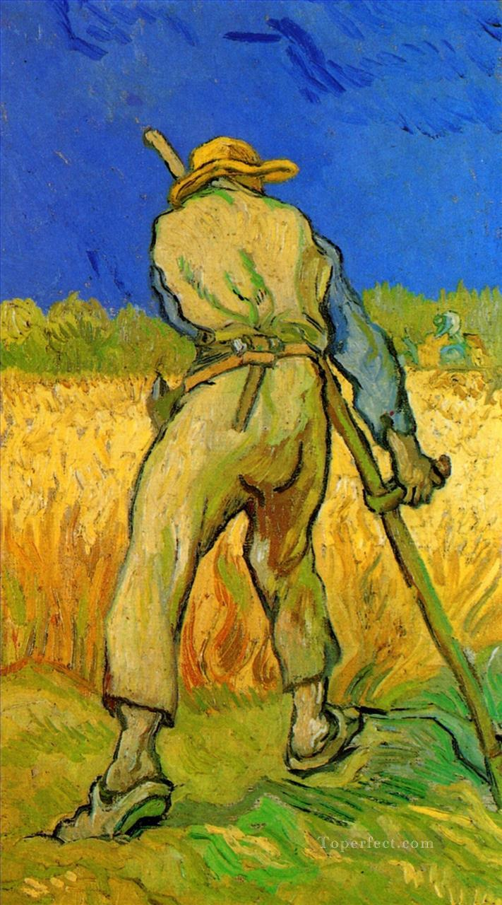 The Reaper after Millet Vincent van Gogh Oil Paintings