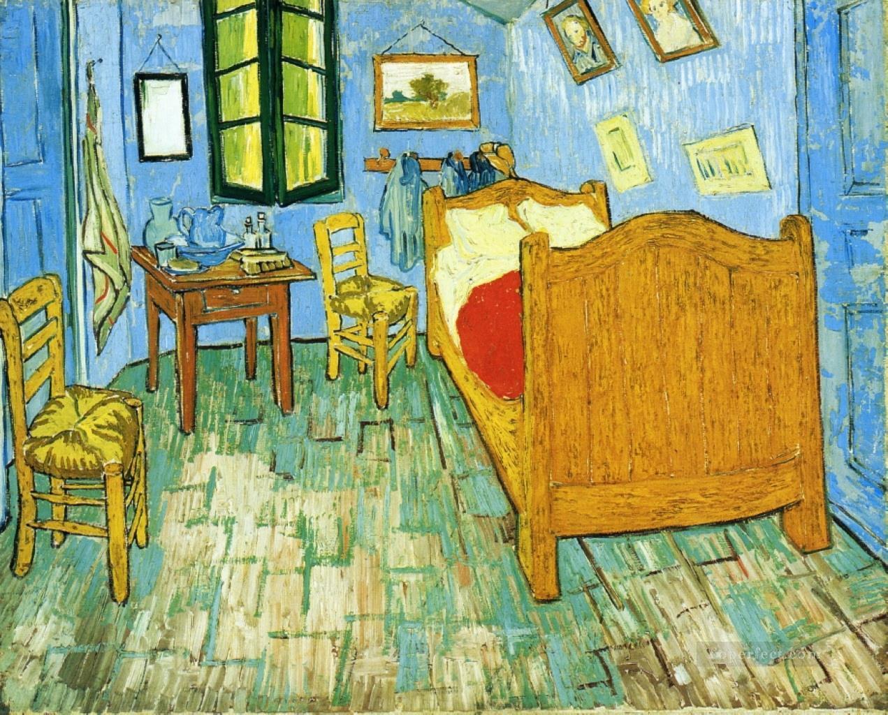 Vincent S Bedroom In Arles 2 Van Gogh Painting