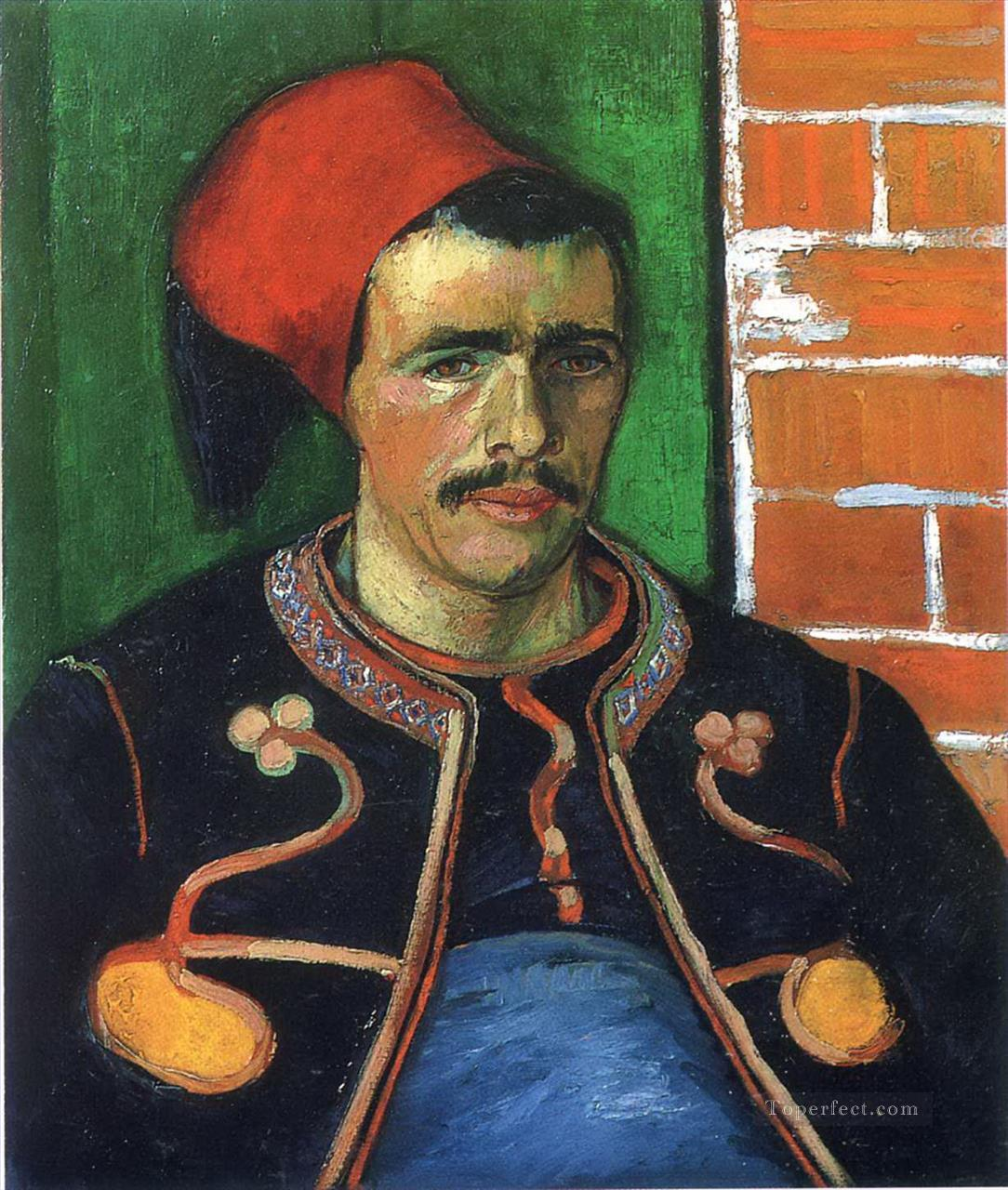 Zouave Vincent van Gogh Oil Paintings