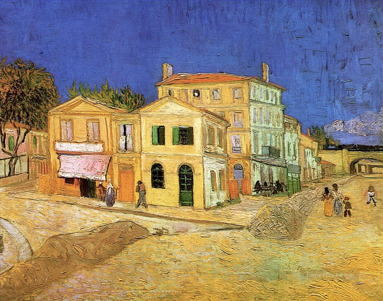 Vincent s House in Arles The Yellow House 2 Vincent van Gogh Oil Paintings