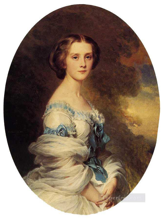 Melanie de Bussiere Comtesse Edmond de Pourtales royalty portrait Franz Xaver Winterhalter Oil Paintings