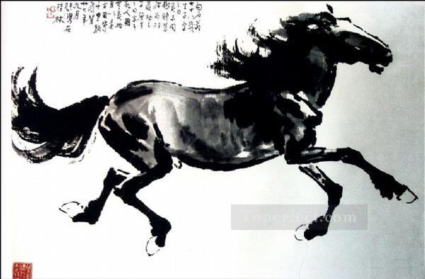 Xu Beihong horse 2 old China ink Oil Paintings