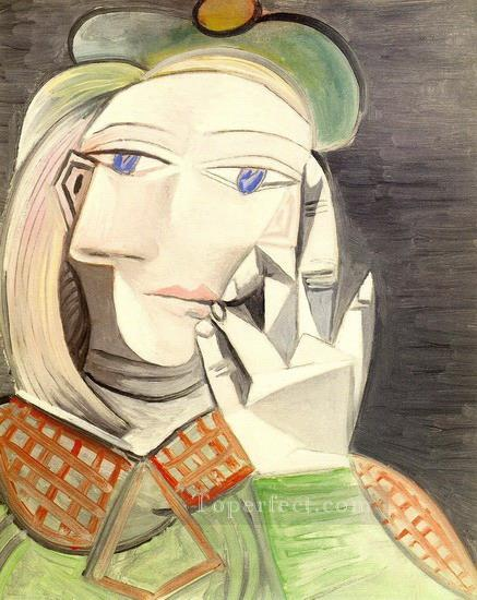 Buste de femme Marie Therese Walter 1938 Cubism Oil Paintings