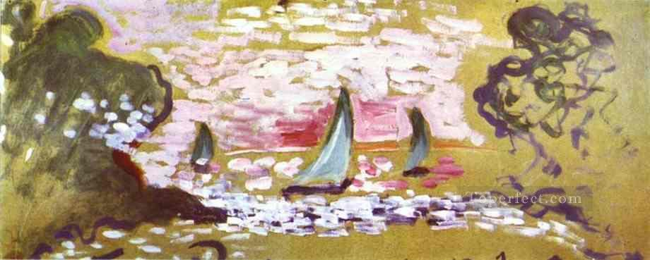 Les voiliers Fauvism Oil Paintings