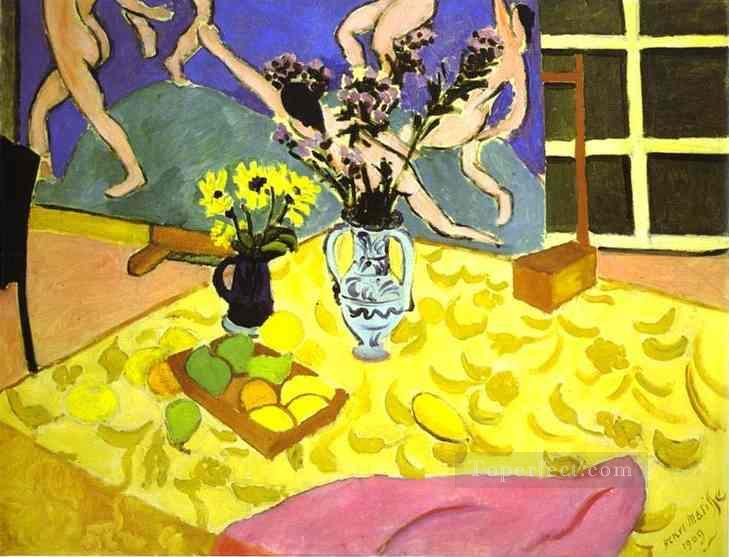 Still Life with La Danse Fauvism Oil Paintings