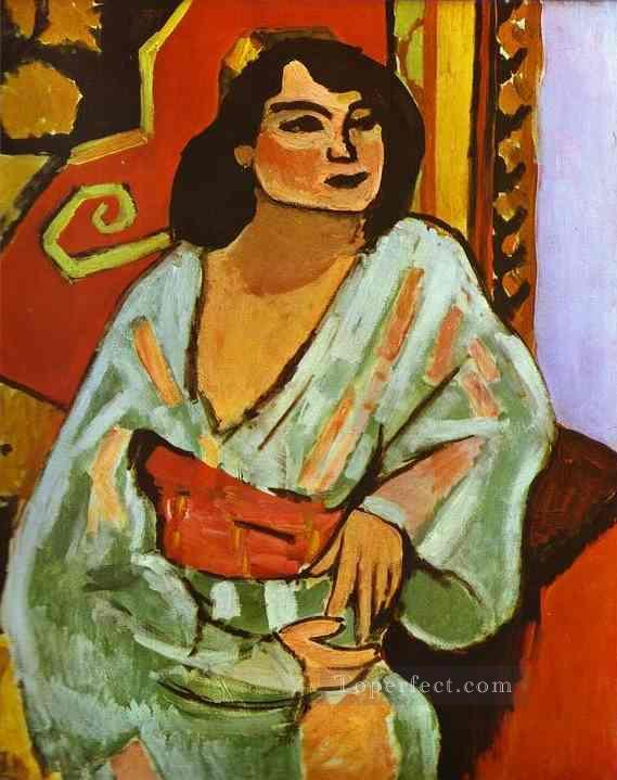 The Algerian Woman Fauvism Oil Paintings