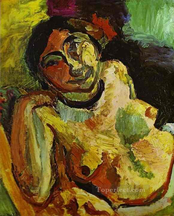 Gypsy 1906 Fauvist Oil Paintings