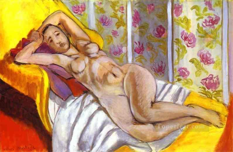 Lying Nude 1924 Fauvist Oil Paintings