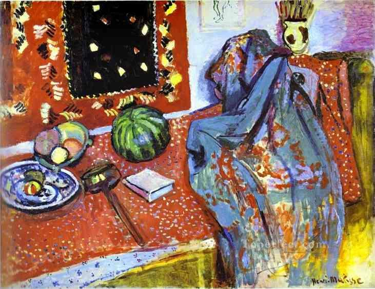 Oriental Rugs 1906 Fauvist Oil Paintings