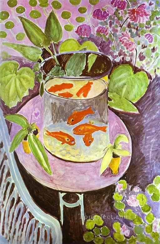 Red Fish 1911 Fauvist Oil Paintings