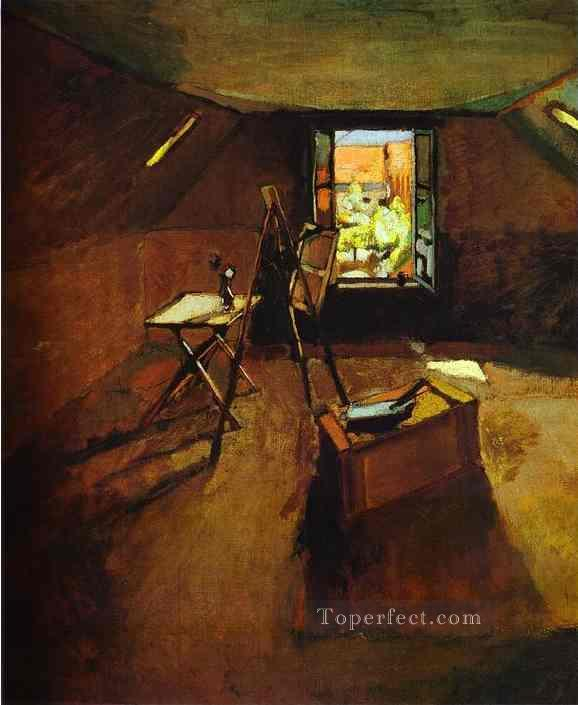 Studio under the Eaves 1903 Fauvist Oil Paintings