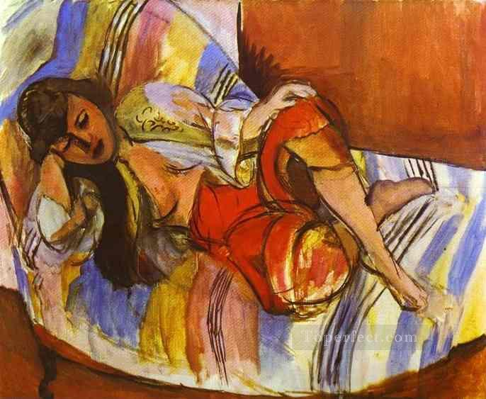 Odalisque 1923 Fauvist Oil Paintings