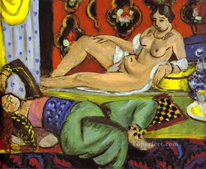 Odalisques 1928 Fauvist Oil Paintings