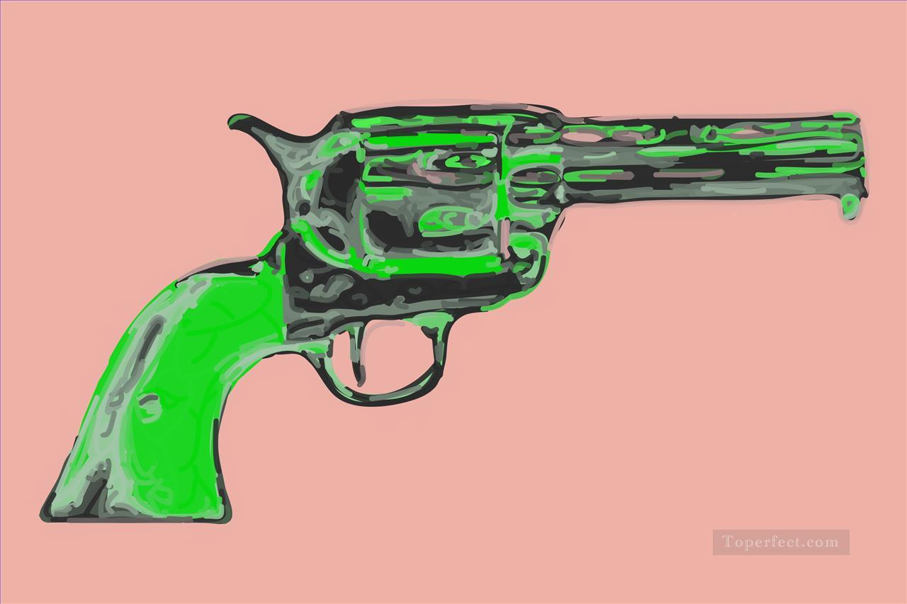 gun inadequate POP Oil Paintings
