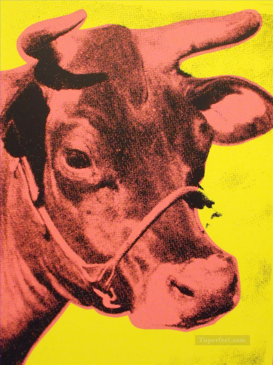 Cow 2 POP Oil Paintings