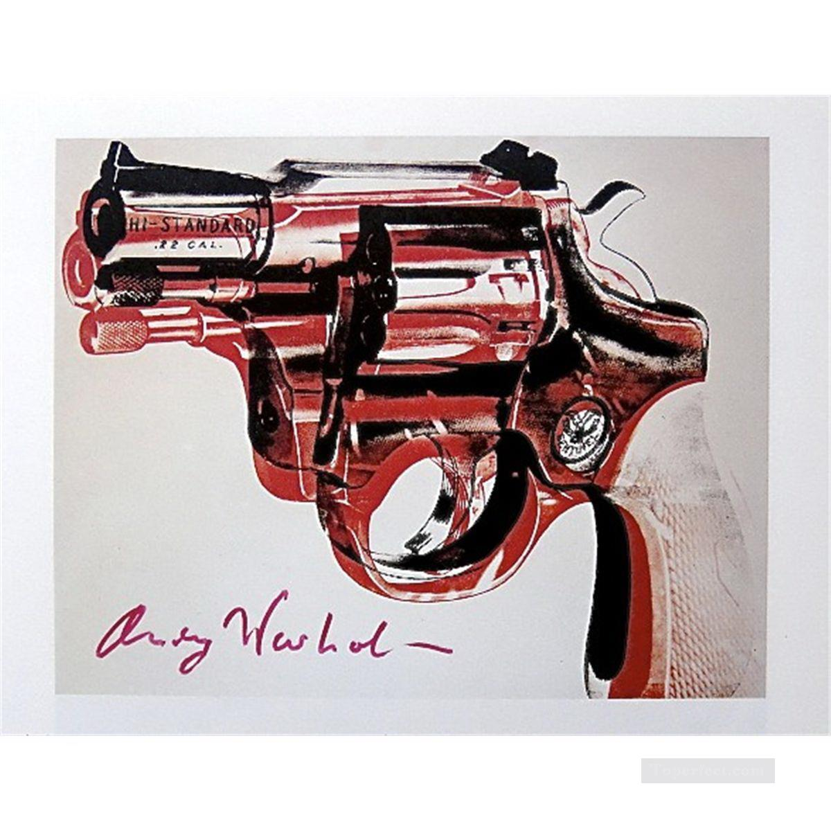 Gun POP Oil Paintings