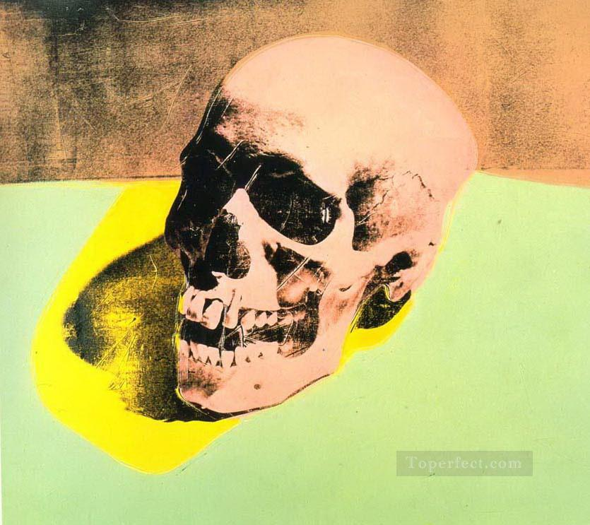 Skull POP Oil Paintings